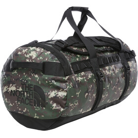 The North Face Base Camp Duffel M, burnt olive green digi camo/tnf black